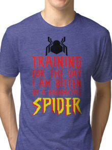 Training For The Day I Am Bitten By A Radioactive Spider MCU Tank Top Tri-blend T-Shirt