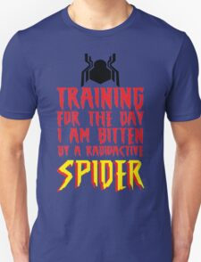 Training For The Day I Am Bitten By A Radioactive Spider MCU Tank Top Unisex T-Shirt