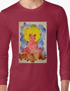 RED ZAZEN CAT Long Sleeve T-Shirt