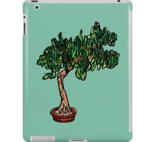 needle bonsai iPad Case/Skin