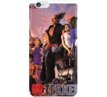 Tekken 2 Poster Top iPhone Case/Skin