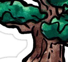 shrub bonsai Sticker
