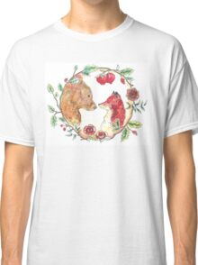 The bear and the fox  Classic T-Shirt