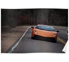 Lamborghini Gallardo LP570-4 Superleggera Poster