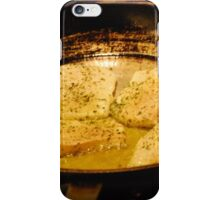 Culinary Science - Pan Searing iPhone Case/Skin