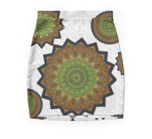 Pitcha plant roundelay pattern Mini Skirt