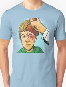 Kid Gets Stamped With ADHD Unisex T-Shirt