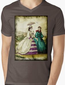 FASHIONABLE LADIES VINTAGE 55 Mens V-Neck T-Shirt