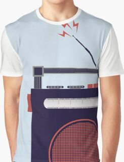 Funky Little Radio Graphic T-Shirt