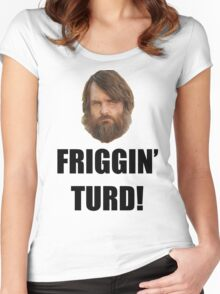 Friggin' Turd - The Last Man On Earth Women's Fitted Scoop T-Shirt