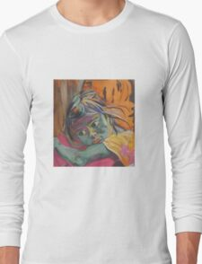 Safe in the arms of Grandma Long Sleeve T-Shirt
