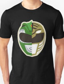 Power Ranger Green White T-Shirt