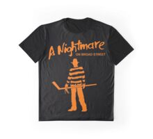 A Nightmare On Board Street Graphic T-Shirt