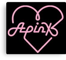 Apink New Logo Canvas Print