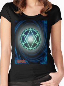 The Seal of Orichalcos  Women's Fitted Scoop T-Shirt