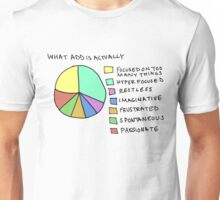 A.D.D Graph Unisex T-Shirt