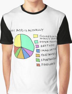 A.D.D Graph Graphic T-Shirt