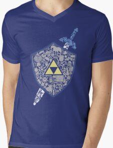 The Legend Mens V-Neck T-Shirt