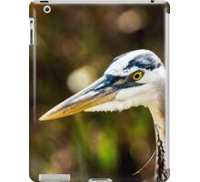 Great Blue Heron Profile iPad Case/Skin