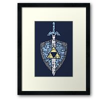 The Legend Continues Framed Print