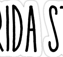 Florida State Sticker