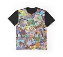 Slothman & Mighty Jack Panel Collage! Graphic T-Shirt