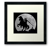 Moonlight Ride Framed Print
