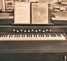 Antique Pianolo by Margaret Stevens