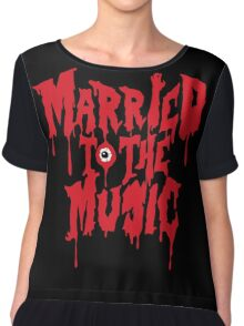 Married to the music Chiffon Top