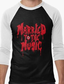 Married to the music Men's Baseball ¾ T-Shirt