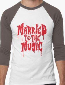 Married to the music Men's Baseball ¾ T-Shirt