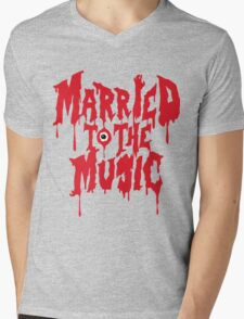 Married to the music Mens V-Neck T-Shirt