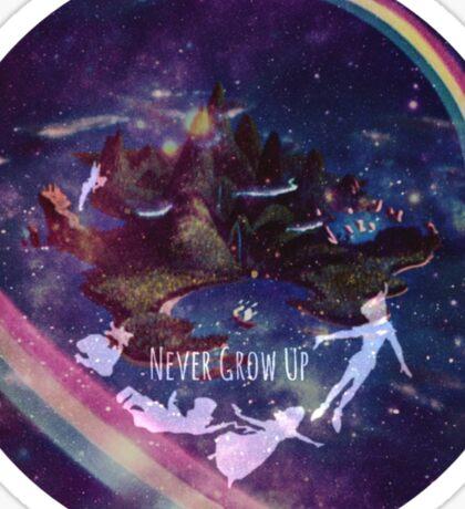 Neverland Galaxy Sticker