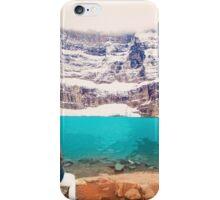 Iceberg Lake, Montana _ American Cutouts iPhone Case/Skin