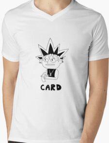 Card Mens V-Neck T-Shirt