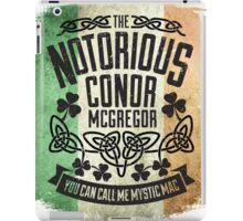 Conor McGregor Crest Tricolour iPad Case/Skin