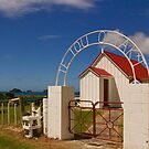 New Zealand Country Church by Barbara  Brown
