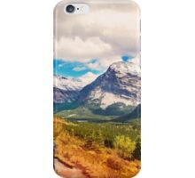 Glacier National Park, Montana _ American Cutouts iPhone Case/Skin