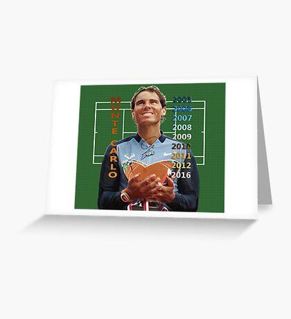 King of Monte-Carlo Greeting Card