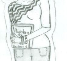 Algebra Sticker