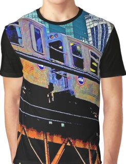 { chicago l, chicago el - series: 1 } Graphic T-Shirt