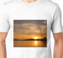 Golden Summer Sunset Unisex T-Shirt