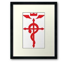 Fullmetal Alchemist - FLAMEL  Framed Print