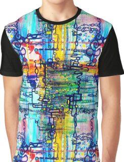 Emergent order - sharp borderless fabric pattern Graphic T-Shirt