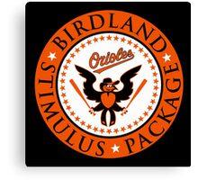 Birdland Stimulus Package Canvas Print