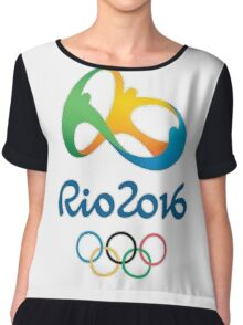 Rio 2016 Olympics Design Chiffon Top