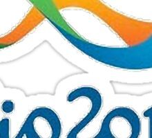 Rio 2016 Olympics Design Sticker