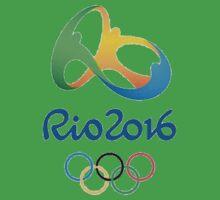 Rio 2016 Olympics Design One Piece - Short Sleeve
