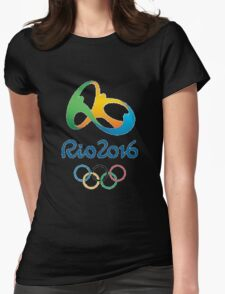 Rio 2016 Olympics Design Womens Fitted T-Shirt