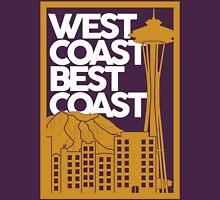 West Coast Best Coast - Gold Unisex T-Shirt
